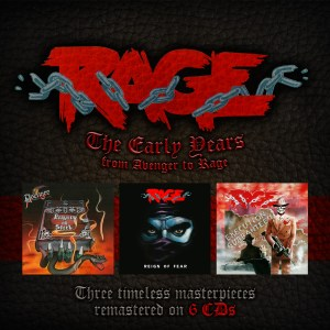 Rage Box Early Years 6-CD