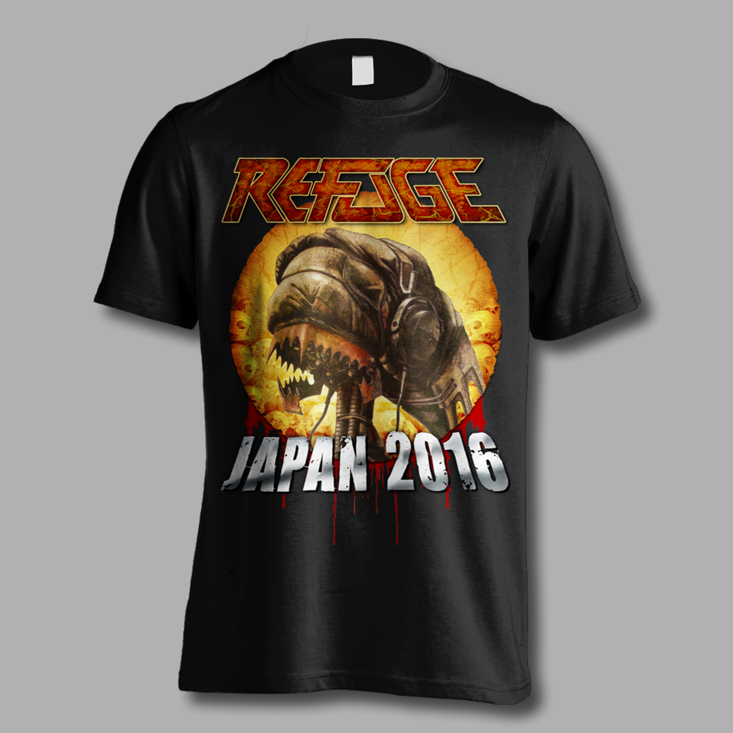 Refuge Japan 2016 Tour Shirt - Front