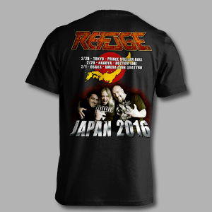 Refuge Japan 2016 Tour Shirt - Back
