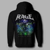 "Official ""Wings Of Rage"" Zipper, back print"